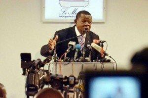 Lambert Mende Omalanga, porte parole du gouvernement de la RDC.